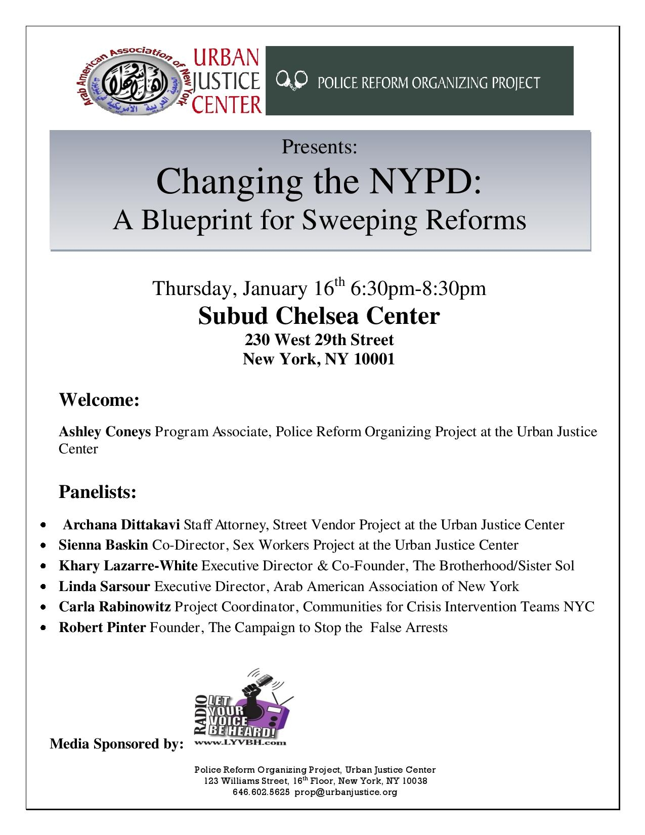 Changing the nypd a blueprint for sweeping reforms police reform posted malvernweather Image collections
