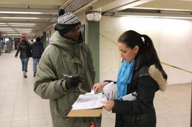 PROP Petitioning to Implement Stop-and-Frisk Changes
