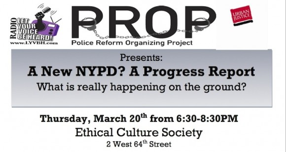 A New NYPD? A Progress Report  - Police Reform Organizing